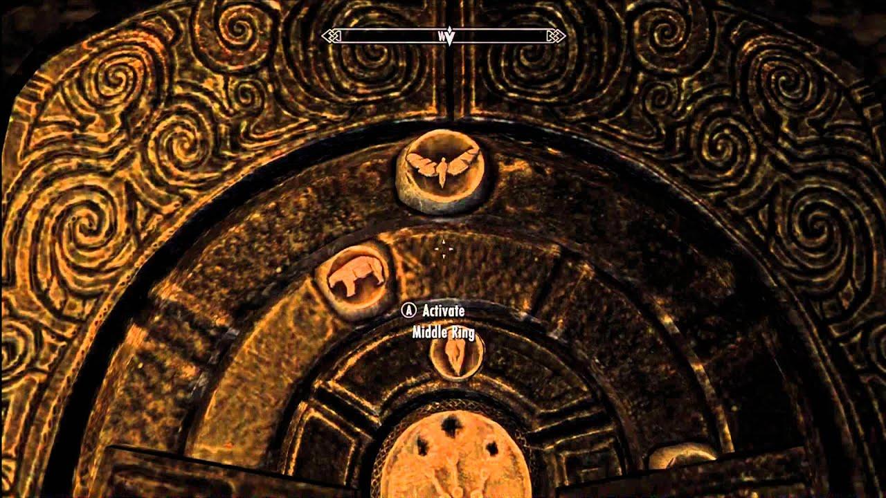 The Elder Scrolls V Skyrim - The Golden Claw Quest Second Puzzle Door - YouTube & The Elder Scrolls V Skyrim - The Golden Claw Quest Second Puzzle ...