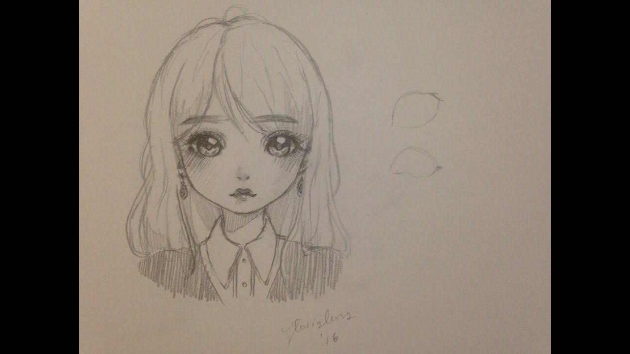 How to draw a girl manga doll style