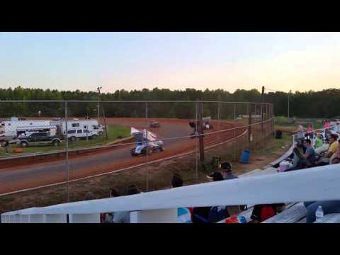 Sumter Speedway May 7th, 2016 Sprint Cars 2nd Heat