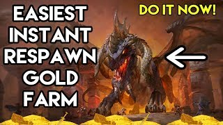 World Of Warcraft Easiest Instant Respawn Gold Farm