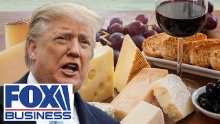 Fox Business panel reacts to Trump's new tariffs on French products