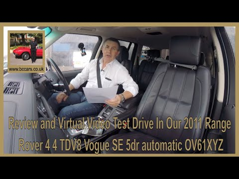 Review And Virtual Video Test Drive In Our 2011 Range Rover 4 4 TDV8 Vogue SE 5dr Automatic OV61XYZ