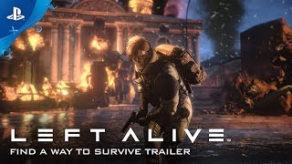 LEFT ALIVE - Find a Way to Survive - Gameplay Trailer | PS4