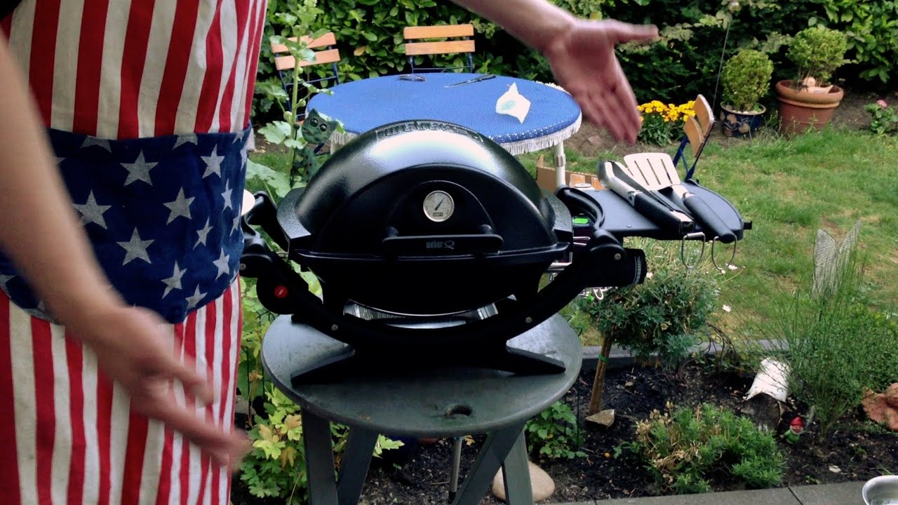 Pulled Pork Gasgrill Q 220 : Die grillshow special johnny s neuer gasgrill youtube