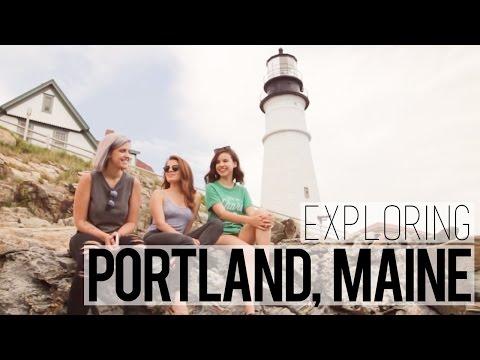Let's Explore! // Portland, Maine
