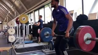Nathan Fox Triple Jump Training Clips (2017 Season)