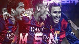 Messi, Suarez & Neymar ● 102 Goals Tribute ● 2014-2015 HD