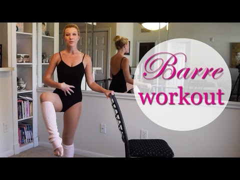 FULL LENGTH: Barre Fitness Workout - Booty, Abs, Arms