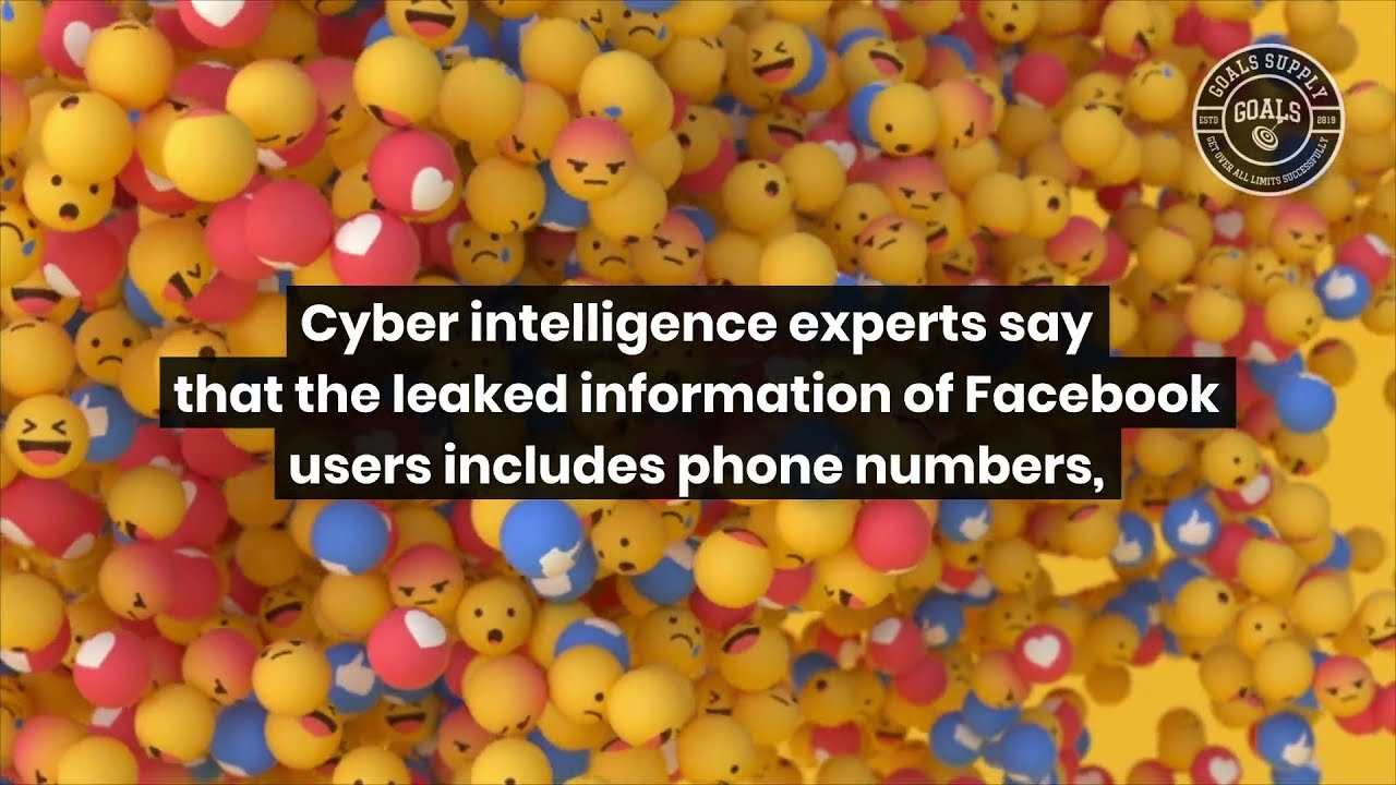 Half a billion Facebook users' info was posted on hacking site - YouTube