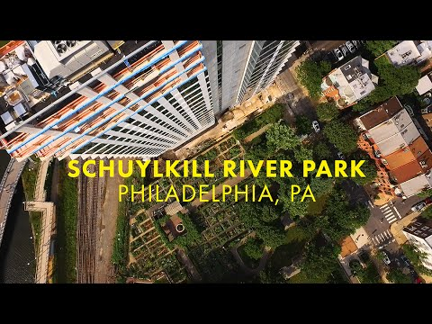 Schuylkill River Park by Air
