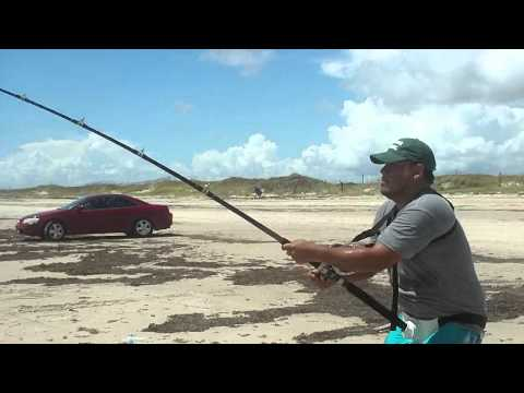 Day 2(4of4): Land Based Blacktip and Bull Shark Fishing, Part 4