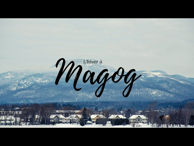 MAGOG-ORFORD EN HIVER | #QUEBEC | 🎥 SONY AX100 4K | RONIN-S