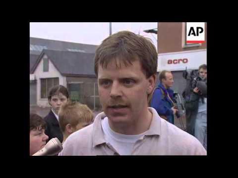NORTHERN IRELAND: BELFAST PREPARES FOR MORE VIOLENCE