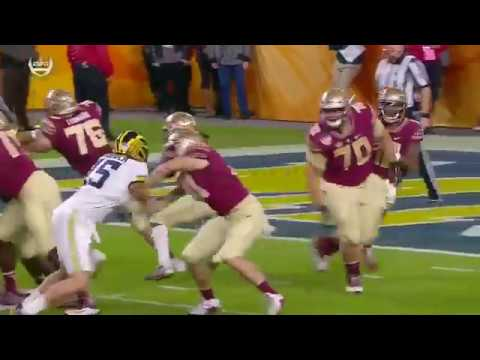 Seminole Moment: Deondre Francois' 92-Yard TD Pass to Noonie Murray (2016 Orange Bowl)