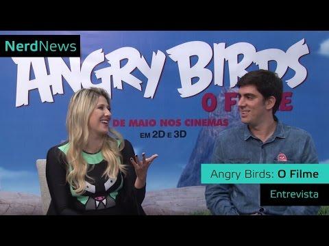 Entrevista Angry Birds: O Filme   Dani Calabresa e Marcelo Adnet