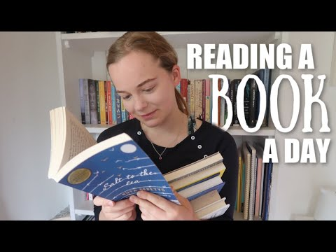What Reading A New Book Every Day Looks Like