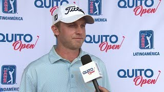 Michael McGowan interview after Round 1 of the 2017 Quito Open