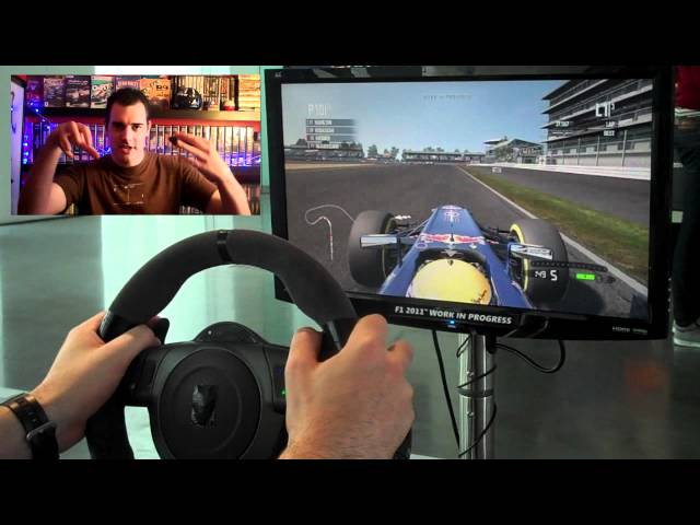 F1 2011 First laps and initial handling impressions