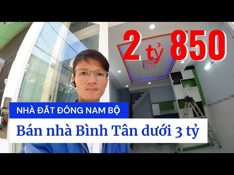 Chính chủ Bán nhà quận Bình Tân dưới 3 tỷ 2021, hẻm Đường số 16A Bình Hưng Hòa A. Nhà đẹp 1 lầu