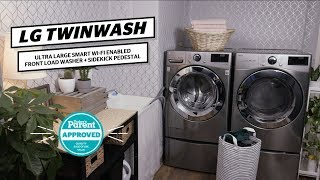 LG TwinWash Review | Today's Parent Approved