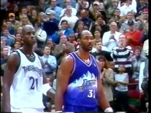 KG & Duncan on Karl Malone - 2000 NBA on NBC Interview