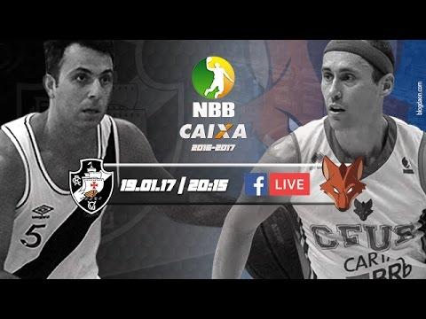 #NBBnaWeb - Vasco da Gama 85 x 76 Brasília | 19.01.2017