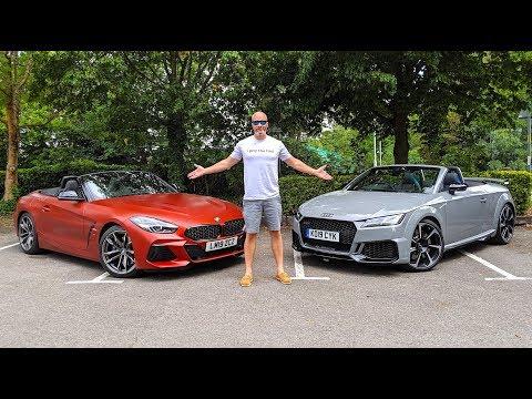 BMW Z4 M40i vs Audi TTRS Roadster 2019 *New Cars