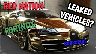 FORTNITE Season 5 Leaked Customized Vehicles Information!
