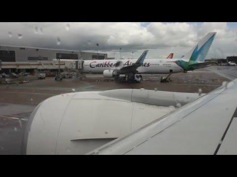 *Amazing start up* Garuda Indonesia B777-300 London Gatwick - Amsterdam