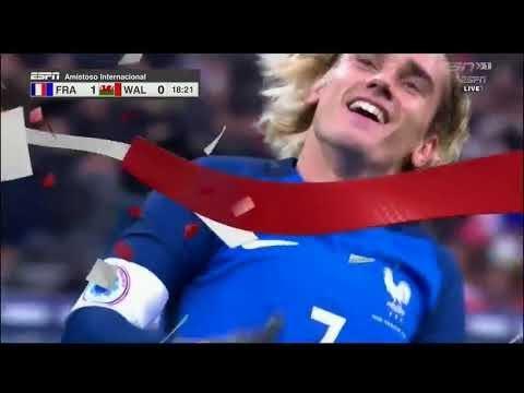 Download France vs Wales 2-0 - Highlights & Goals - 10 November 2017