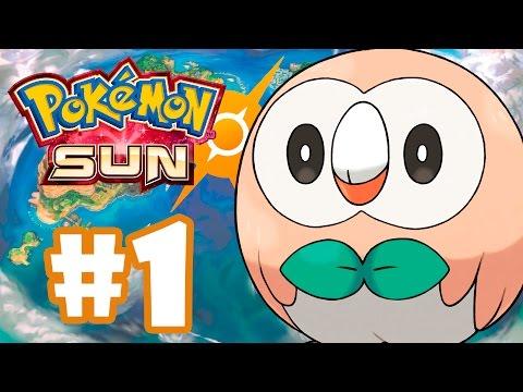 POKÉMON SUN #1 - GAMEPLAY DO INÍCIO