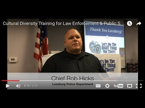Cultural Diversity Training for Law Enforcement & Public Service Professionals - The RITE Way