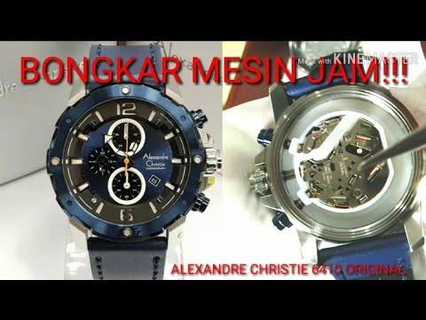 BONGKAR MESIN JAM!!! ALEXANDRE CHRISTIE 6410