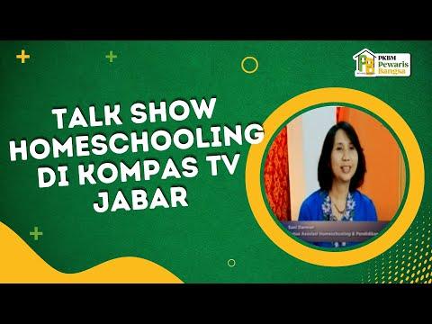 talk show homeschooling di Kompas TV Jabar