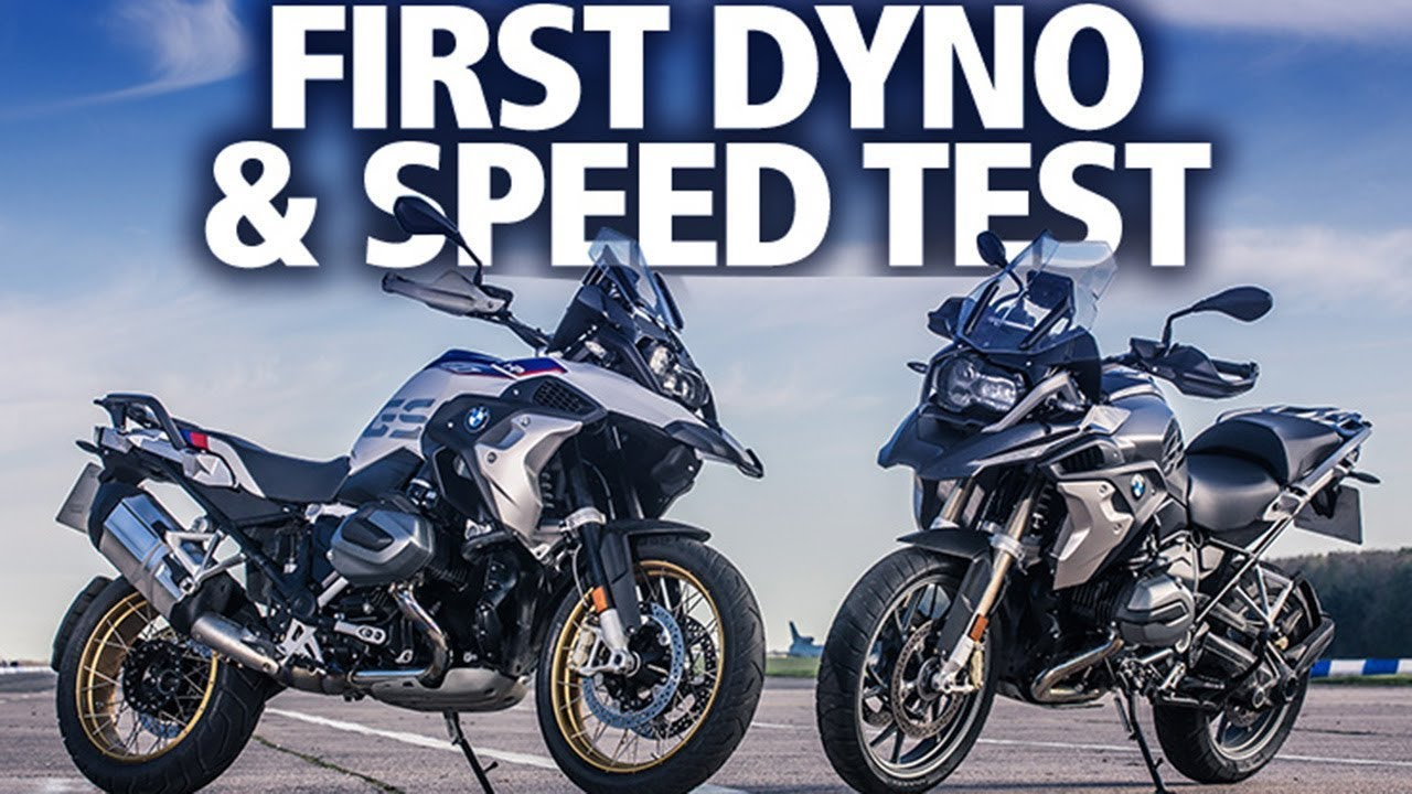 BMW R1250GS (2019) | World first dyno and speed test