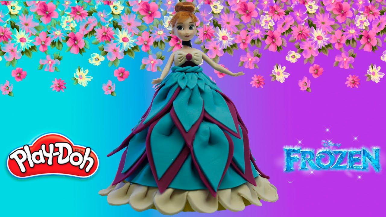 Как сделать платье куклам из пластилина