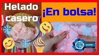 Experimento ¡Riquísimo!: Helado casero en bolsa (Sólo 3 ingredientes)