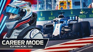 F1 2018 Career Mode Part 55: My Last Race for Williams?