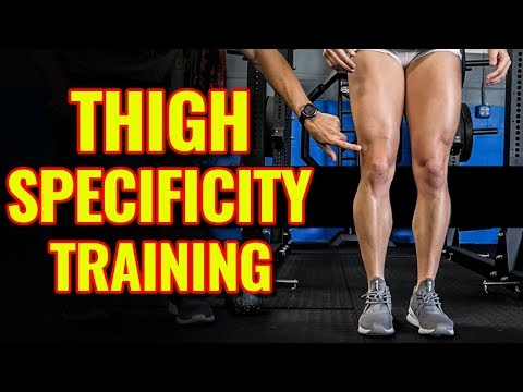 SQUAT STANCE & Thigh Muscles Used / LEG Building Training Tips