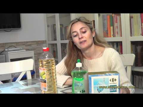 Detergente lavavajillas GRAN AHORRO, casero y ecológico. Dish Washing Machine (organic)  by Pilar