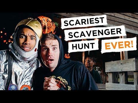 Scariest LEGO Scavenger Hunt EVER! - REBRICKULOUS