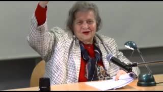 Ruth Lapide: Vom Bilderverbot der Thora zum heutigen Kunstverständnis - Vortrag