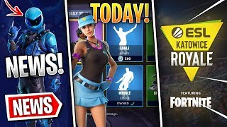 Fortnite News | Volley Girl Tonight, Honor Skin Update, ESL Katowice Royale, Fixes & More!