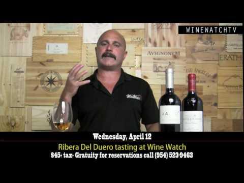 Ribera Del Duero Rioja and Toro Tasting at Wine Watch - click image for video