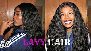 LavyHair | Unboxing&Initial Review - 300% Density Burmese Body Wave Lacefront Wig
