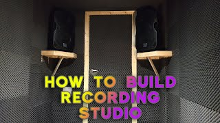 How to Build and Soundproof a Room for Music Recording Studio (Drum Studio)