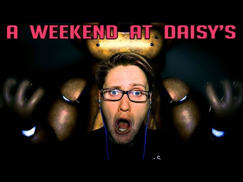 | THE CURSE OF FREDDY?! | A Weekend At Daisy's (FNAF Fan-game)