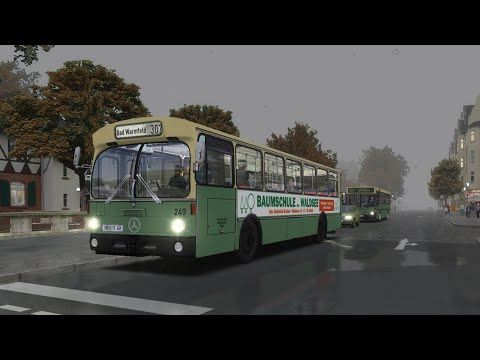 [OMSI 2] 75kmh on an old O305 in Neuendorf!!! |