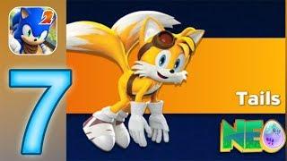 Sonic Dash 2: Sonic Boom Gameplay Walkthrough Part 7 - Tails Unlocked (iOS, Android) screenshot 3