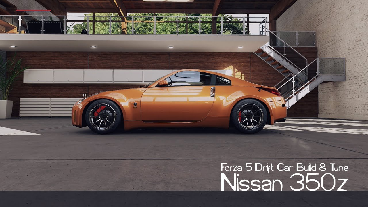 Forza Drift Car Building Tuning Nissan Youtube